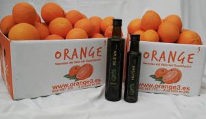 combinado aceite naranjas