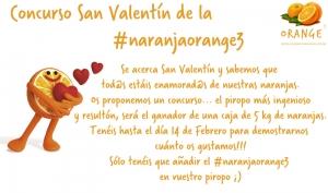 Concursa utilizando #naranjaorange3